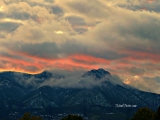 Sunset over Pikes Peak