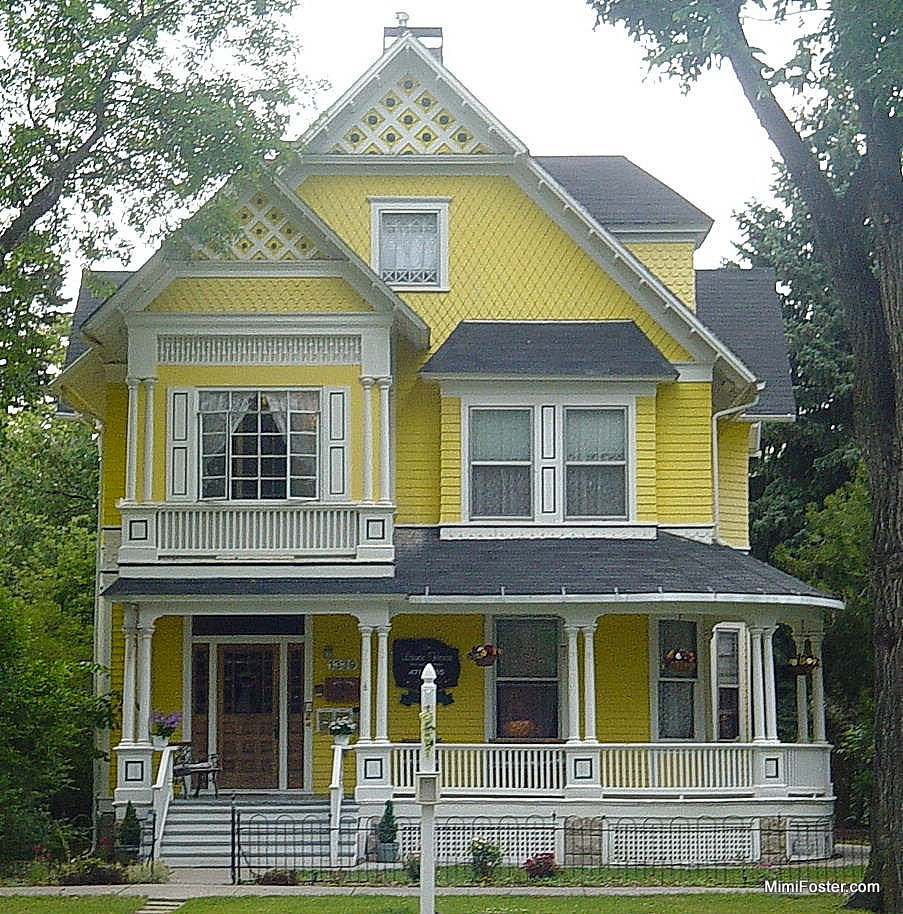 Painted Lady House Colors