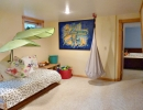 Family room opens to Bedroom