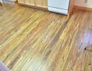 Uniquely beautiful EcoTimber - Woven Poplar hardwood flooring on upper level