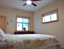 Ceiling fans, well-insulated, newer drywall throughout