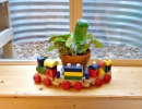 Window wells are bright and cheerful