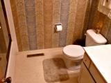 Community bathroom on upper level