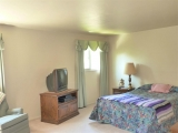 Very large second bedroom on upper level