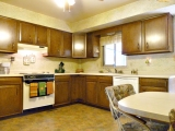 Well laid out kitchen for ease of use