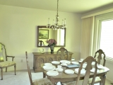 Dining room large enough for large table