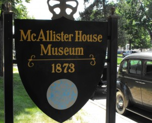 McAllister House Museum Downtown Colorado Springs