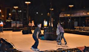 Ice Skating Rink Acacia Park Downtown Colorado Springs