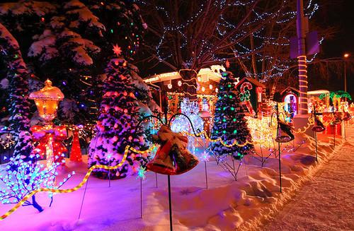 Christmas Lights In Colorado Springs