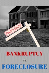 Bankruptcy vs Foreclosure