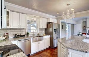 Gourmet Kitchen in Broadmoor 2 story