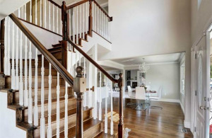 Broadmoor home with curving stairway