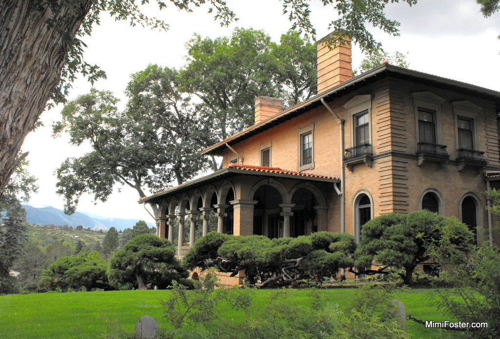 Downtown Colorado Springs Victorian Homes Colorado