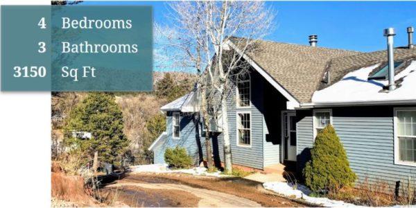 307 Elkhorn Road, Manitou Springs Home For Sale
