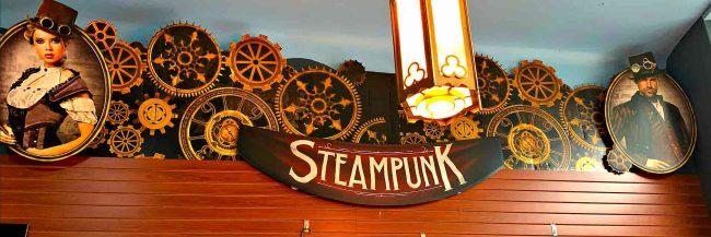 banner of steampunk