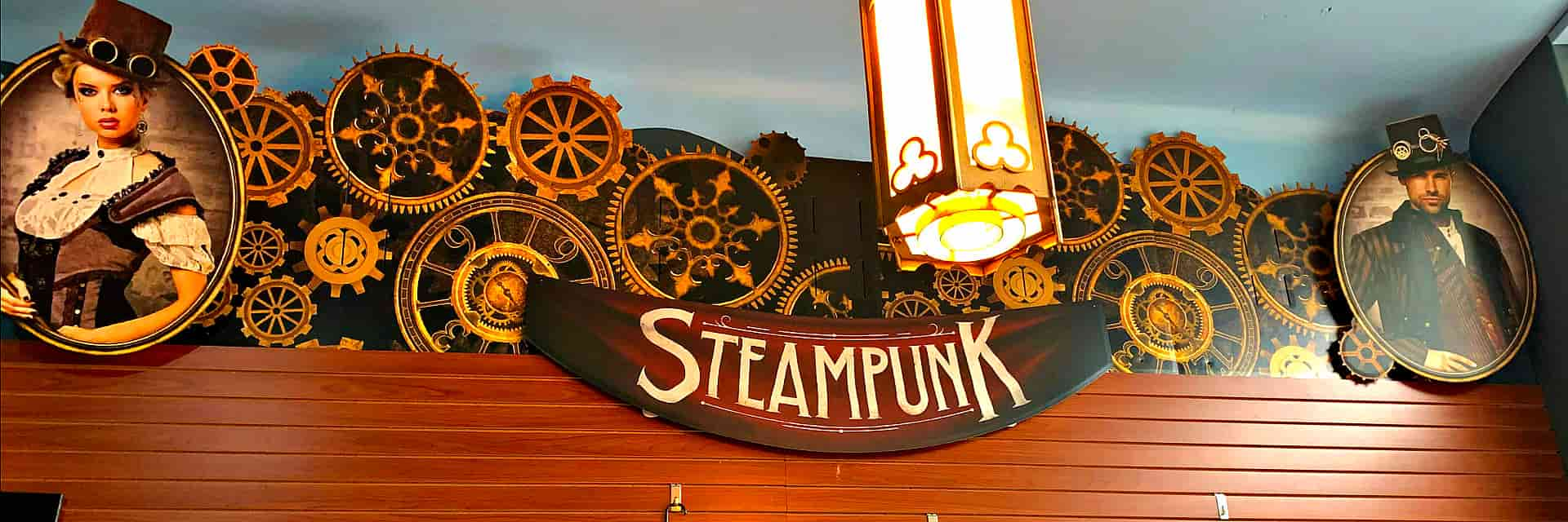 banner of steampunk
