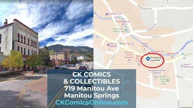 ck comic book store