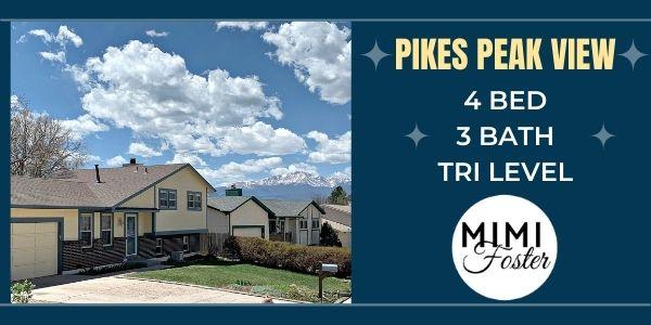 home for sale 2845 Buttermilk Colorado Springs