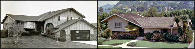 1327 Kern Street in Colorado Springs and 11222 Dilling Street in Studio City