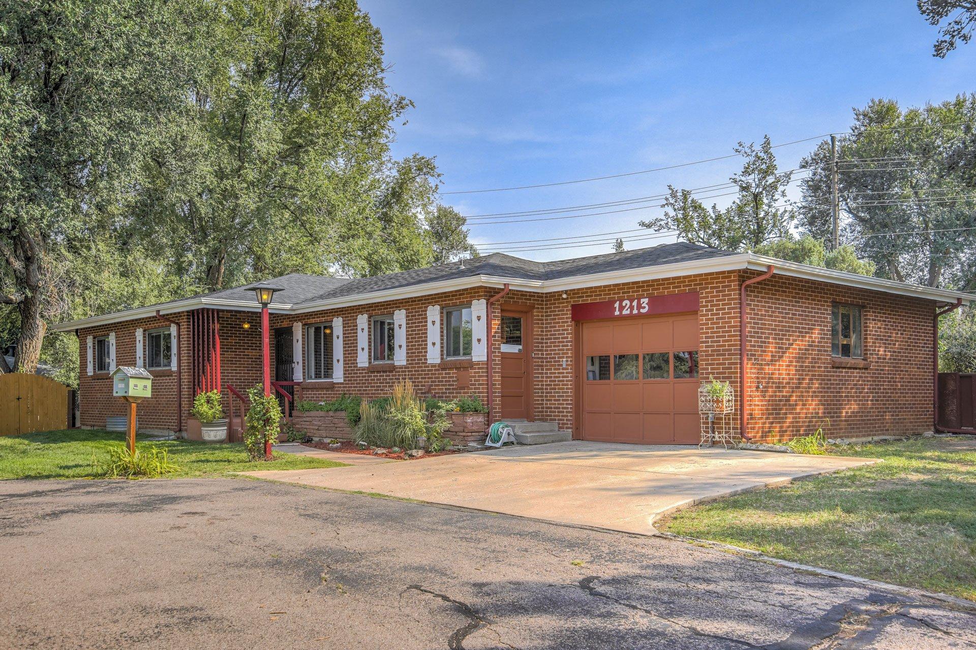 Brick rancher for sale Colorado Springs