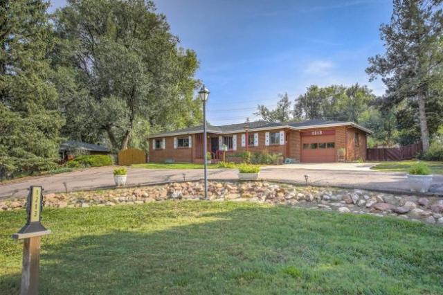 Brick rancher for sale near Cheyenne Mountain High School