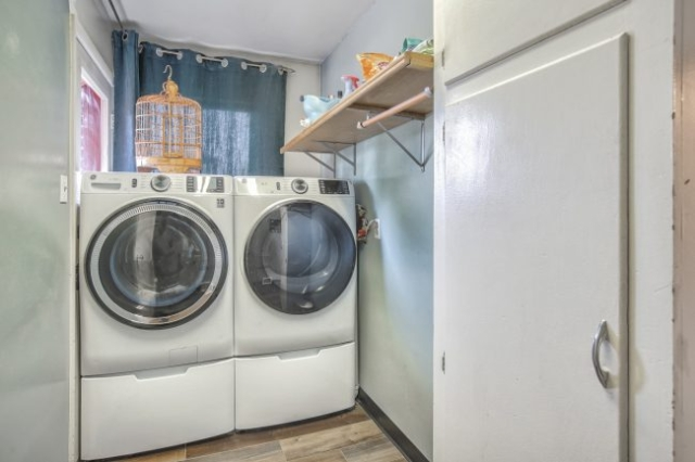 Washer and dryer and panty