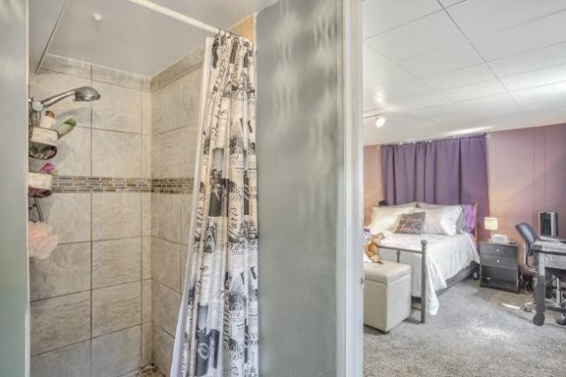 shower looking toward bedroom