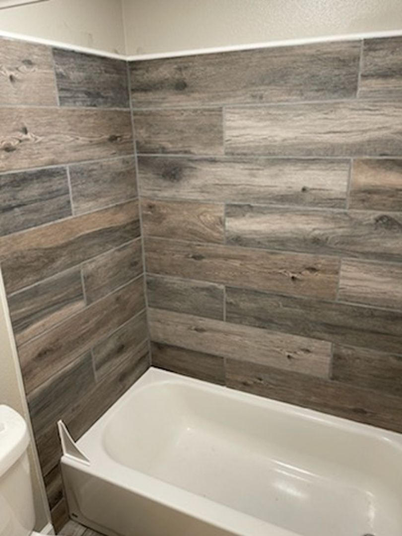 bathroom in fourplex for sale in COS