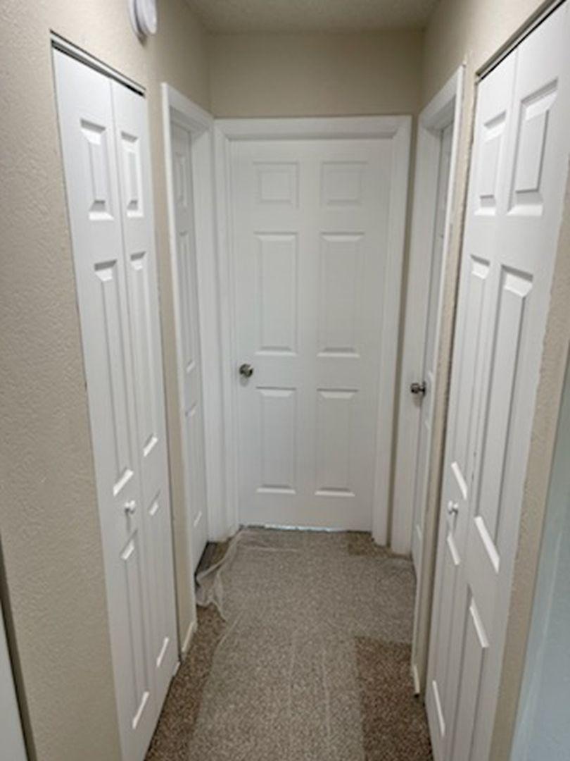 hallway in fourplex for sale in colorado springs