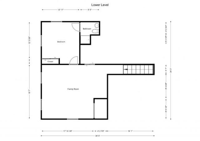 floorplan for basement